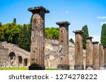 italy  may 2015   ancient ruins ... | Shutterstock . vector #1274278222
