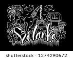 hand drawn symbols of sri lanka   Shutterstock .eps vector #1274290672