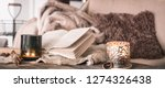 still life home atmosphere in... | Shutterstock . vector #1274326438