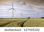 beverley  yorkshire  uk. wind... | Shutterstock . vector #127435232