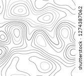 amazing topography. admirable... | Shutterstock .eps vector #1274387062