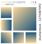 colorful gradients in gold ... | Shutterstock .eps vector #1274387092