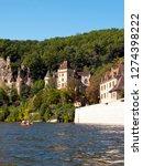 la roque gageac  france   24th...   Shutterstock . vector #1274398222