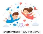 impressions when you have great ... | Shutterstock .eps vector #1274450392