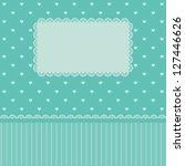 love. valentines card. wedding...   Shutterstock .eps vector #127446626