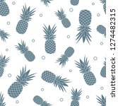 seamless pattern with... | Shutterstock .eps vector #1274482315