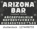 classic vintage font decorative ... | Shutterstock .eps vector #1274498755