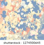 colorful splashes background | Shutterstock .eps vector #1274500645