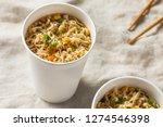 Instant Ramen Noodles In A Cup...
