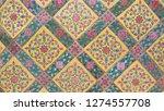beautiful glass wall at wat...   Shutterstock . vector #1274557708