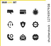 help icons set with dislike ...