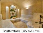 interior of turkish sauna....   Shutterstock . vector #1274613748