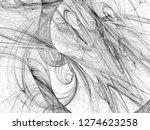 grunge abstract black... | Shutterstock . vector #1274623258