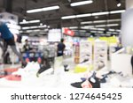 shopping mall abstract... | Shutterstock . vector #1274645425