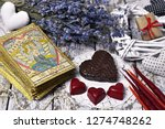 Tarot Card Lovers  Chocolate...