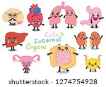 draw character design cute... | Shutterstock .eps vector #1274754928