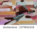 bright multi colored painting ... | Shutterstock . vector #1274816218