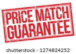 price match guarantee | Shutterstock .eps vector #1274824252