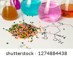 plastic raw material in... | Shutterstock . vector #1274884438