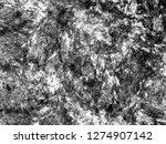 grunge abstract black... | Shutterstock . vector #1274907142