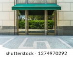 shopfront with large windows | Shutterstock . vector #1274970292