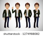 elegant people business people   Shutterstock .eps vector #1274988082
