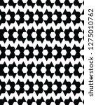 seamless  monochrome  geometric ... | Shutterstock .eps vector #1275010762