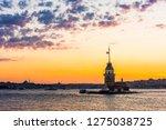 maiden's tower in istanbul ...   Shutterstock . vector #1275038725