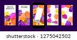 stories template design. tropic ... | Shutterstock .eps vector #1275042502