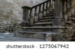 Old Vintage Stone Stairs In...