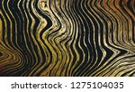 abstract wood gold pattern... | Shutterstock . vector #1275104035