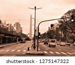 buenos aires  argentina  ... | Shutterstock . vector #1275147322