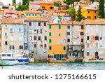 cityscape of the istrian... | Shutterstock . vector #1275166615