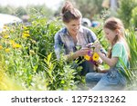 smiling mother and daughter...   Shutterstock . vector #1275213262