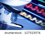 research microscope | Shutterstock . vector #127523576