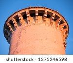 tower castle at sunset against... | Shutterstock . vector #1275246598