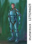 concept art digital painting or ... | Shutterstock . vector #1275246625