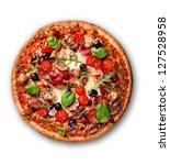 Delicious Italian Pizza Over...