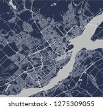 vector map of the city of...   Shutterstock .eps vector #1275309055