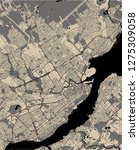vector map of the city of...   Shutterstock .eps vector #1275309058