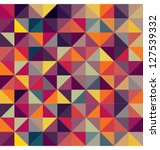 colorful geometric pattern.... | Shutterstock .eps vector #127539332