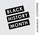 black history month | Shutterstock .eps vector #1275409858