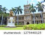 King Kamehameha Statue In...