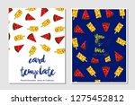 card template vector...   Shutterstock .eps vector #1275452812