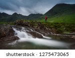 Water Cascading Down The...