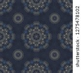geometric swirls intricate... | Shutterstock .eps vector #1275478102
