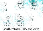 light blue vector backdrop with ... | Shutterstock .eps vector #1275517045
