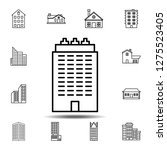 building outline icon. simple...