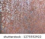 rust on metal texture | Shutterstock . vector #1275552922