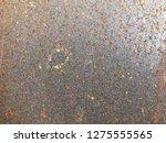 rust on metal texture | Shutterstock . vector #1275555565